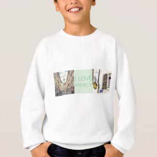 """""""I Love Annecy"""" Photo Banner Sweatshirt"""