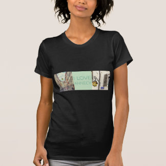 """I Love Annecy"" Photo Banner T-Shirt"