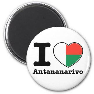 I love Antananarivo Magnet