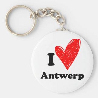 I love Antwerp Keychain