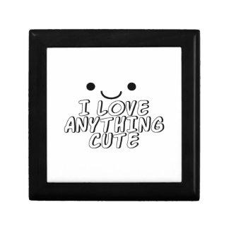 I Love Anything Cute Gift Box