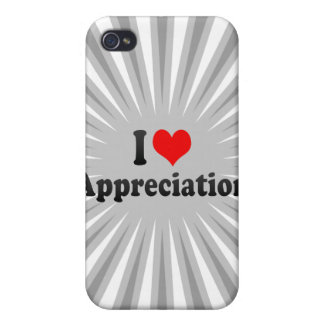 I love Appreciation iPhone 4/4S Covers