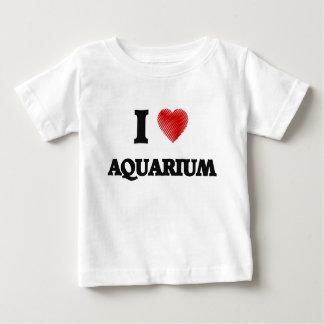 I Love Aquarium Baby T-Shirt