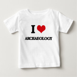 I Love Archaeology Baby T-Shirt