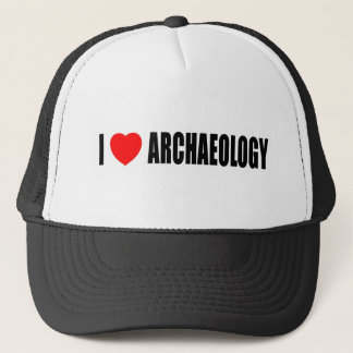 I Love Archaeology Trucker Hat