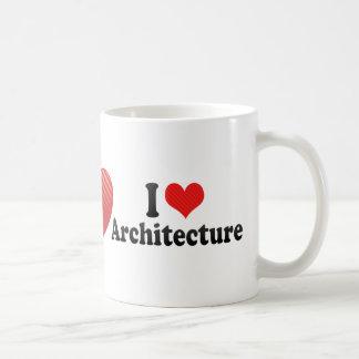 I Love Architecture Coffee Mug