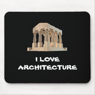 I Love Architecture Mousepad