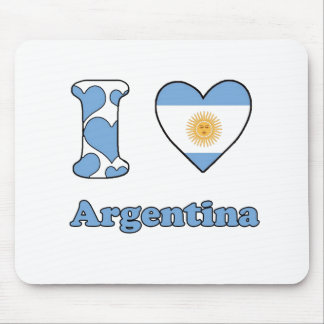 I love Argentina Mouse Pad