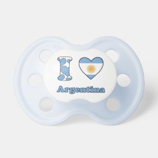 I love Argentina Pacifier