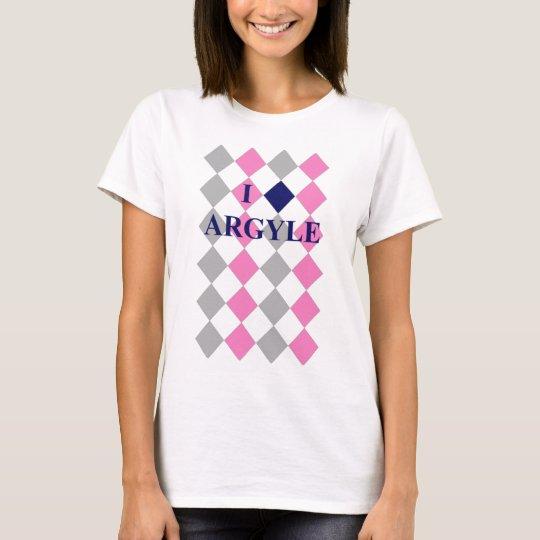 I Love Argyle - Women's! T-Shirt