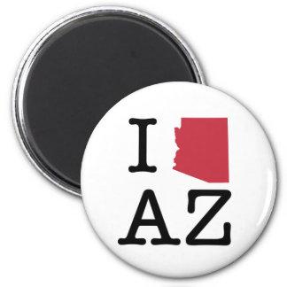I Love Arizona 2 Inch Round Magnet