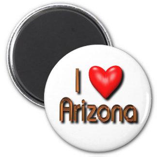 I Love Arizona Magnets