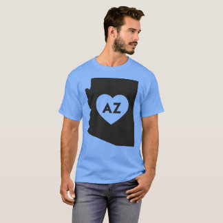 I Love Arizona State Men's Basic Dark T-Shirt