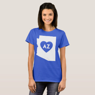 I Love Arizona State Women's Basic T-Shirt