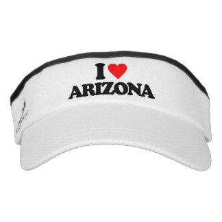 I LOVE ARIZONA VISOR