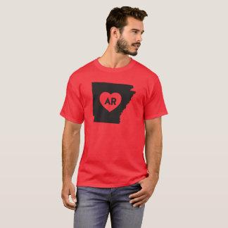 I Love Arkansas State Men's Basic Dark T-Shirt