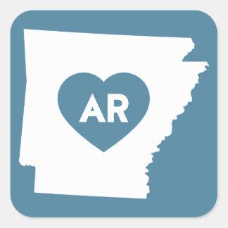 I Love Arkansas State Stickers