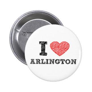 I-Love-Arlington Button