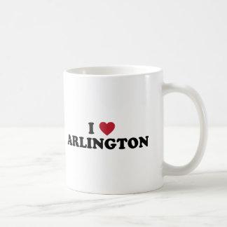 I Love Arlington Texas Basic White Mug