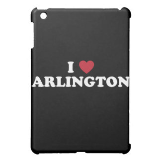 I Love Arlington Texas iPad Mini Cover