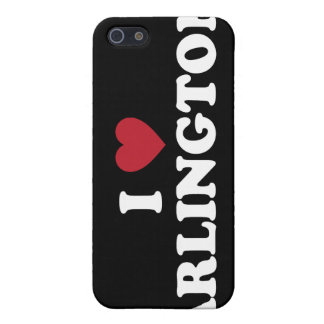 I Love Arlington Texas Cover For iPhone 5