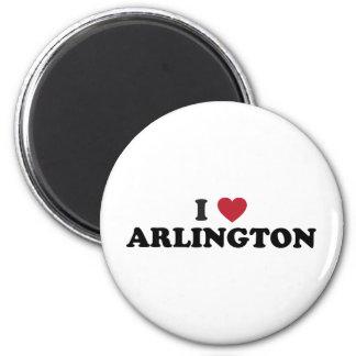 I Love Arlington Texas Refrigerator Magnet