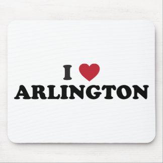 I Love Arlington Texas Mousepads