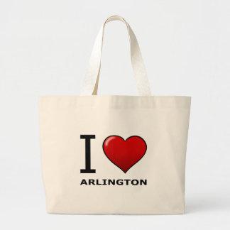 I LOVE ARLINGTON TX - Texas Tote Bag