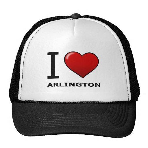 I LOVE ARLINGTON, TX - Texas Mesh Hat
