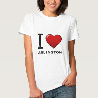 I LOVE ARLINGTON, TX - Texas T-shirts