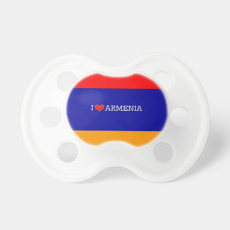 I Love Armenia Pacifier