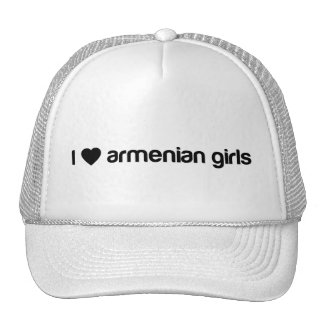 I Love Armenian Girls Trucker Hat