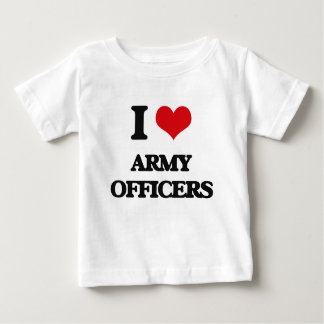 I love Army Officers Tshirts