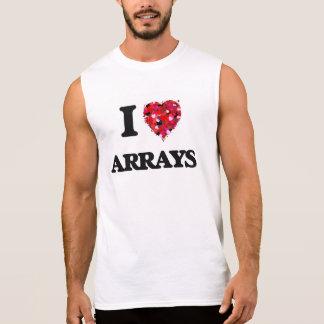I Love Arrays Sleeveless Tee