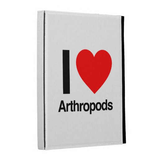 i love arthropods iPad folio cases