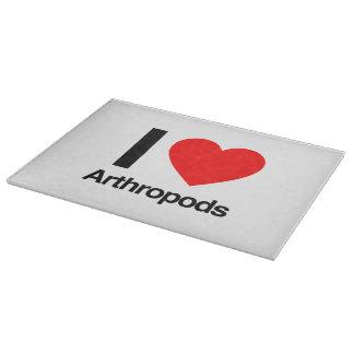 i love arthropods cutting boards