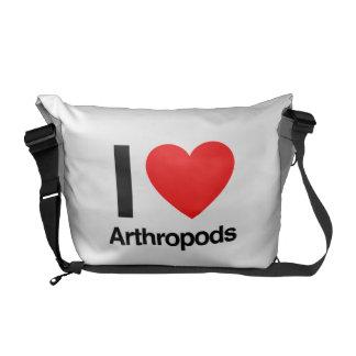 i love arthropods courier bags