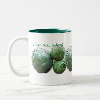 I love Artichokes - Mug