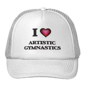 I Love Artistic Gymnastics Trucker Hat