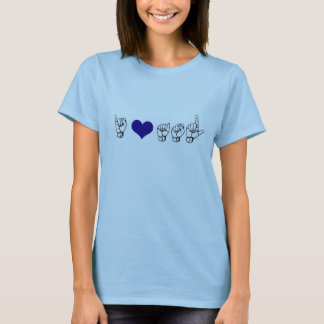 I Love ASL (American Sign Language) T-Shirt