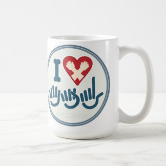 I love ASL Mug. Coffee Mug