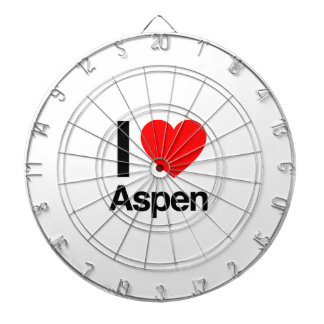 i love aspen dartboard