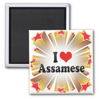 I Love Assamese Magnet