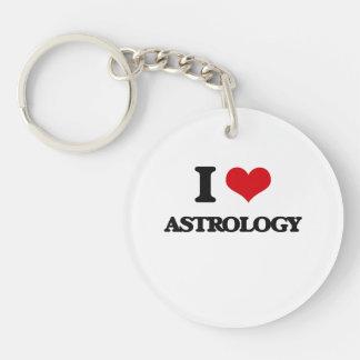 I Love Astrology Keychain