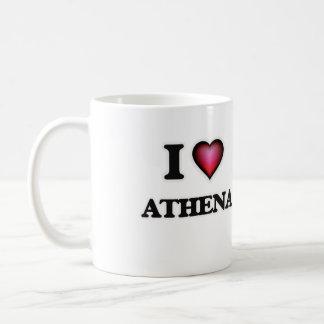 I Love Athena Coffee Mug