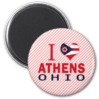 I love Athens, Ohio Magnet