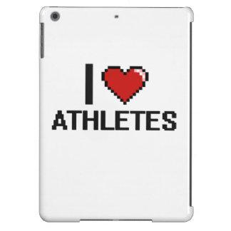 I love Athletes iPad Air Covers