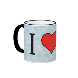 I Love Athletes Ringer Mug