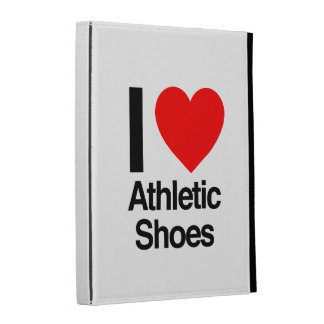 i love athletic shoes iPad folio cases