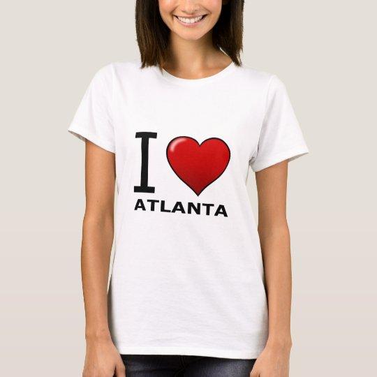 I LOVE ATLANTA,GA - GEORGIA T-Shirt